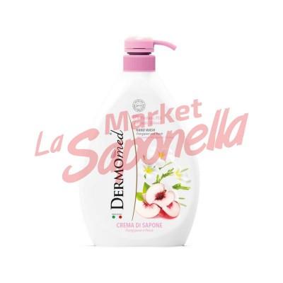 Sapun lichid  cu piersica Dermomed – 1000 ml